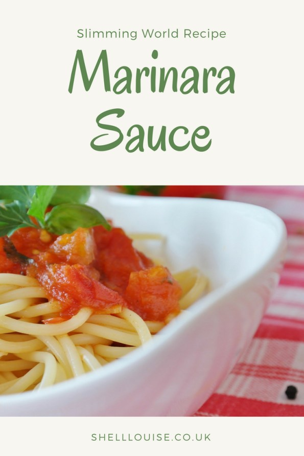 Seafood Marinara sauce with tuna - Slimming World recipe