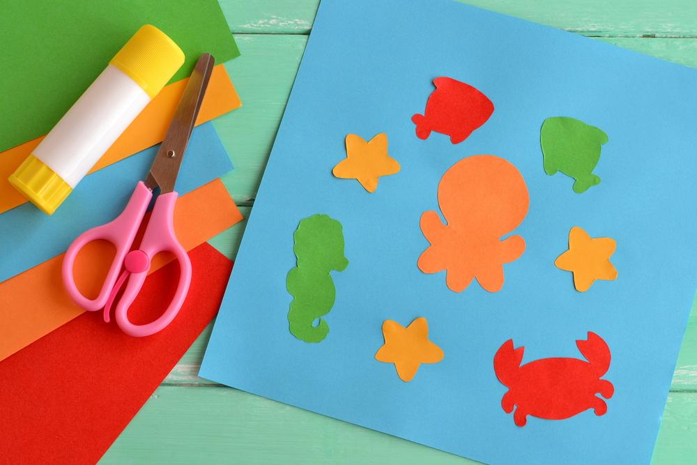 paper ocean creatures