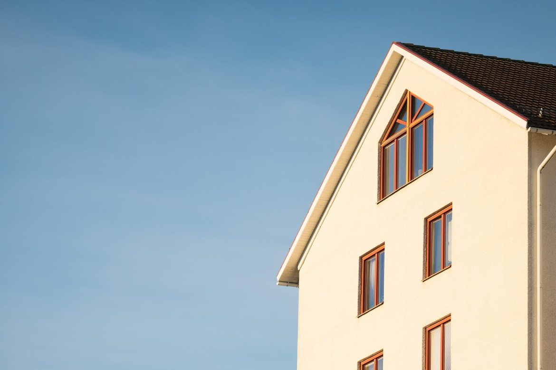 check the facade - front of house