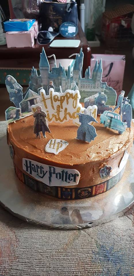 13th birthday Harry Potter cake for our teenager