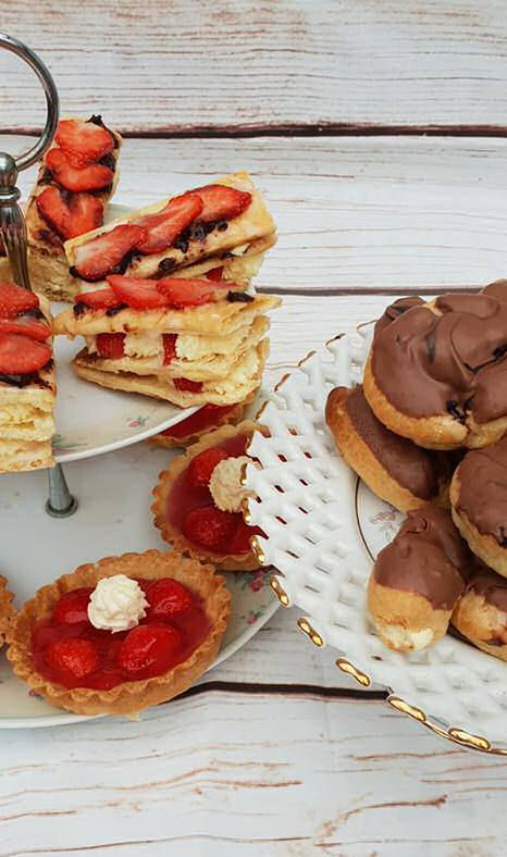 Great BritishBake Off Bloggers showstopper pastries