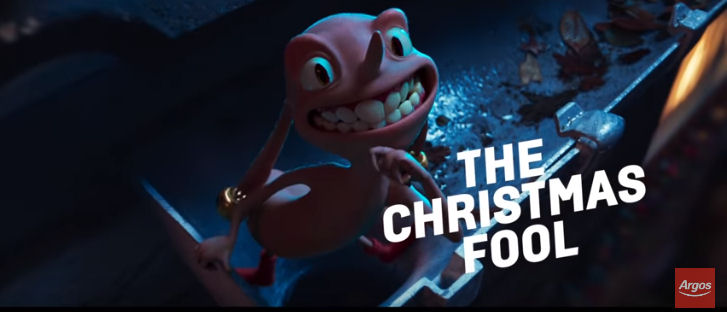 The Christmas Fool Argos Christmas advert 2018