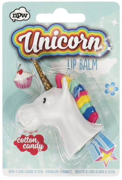 Cotton Candy Unicorn Lip Balm from I Want One Of Those IWOOT