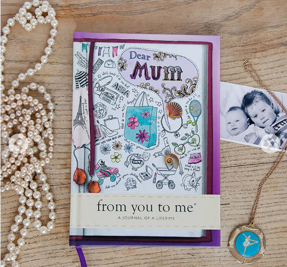 Gifts for her - Dear Mum book