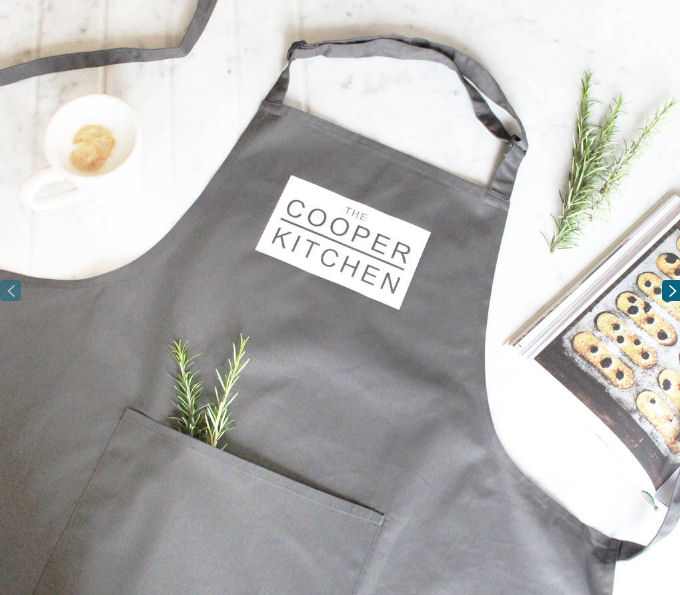 Personalised Surname Apron from Not On The High Street