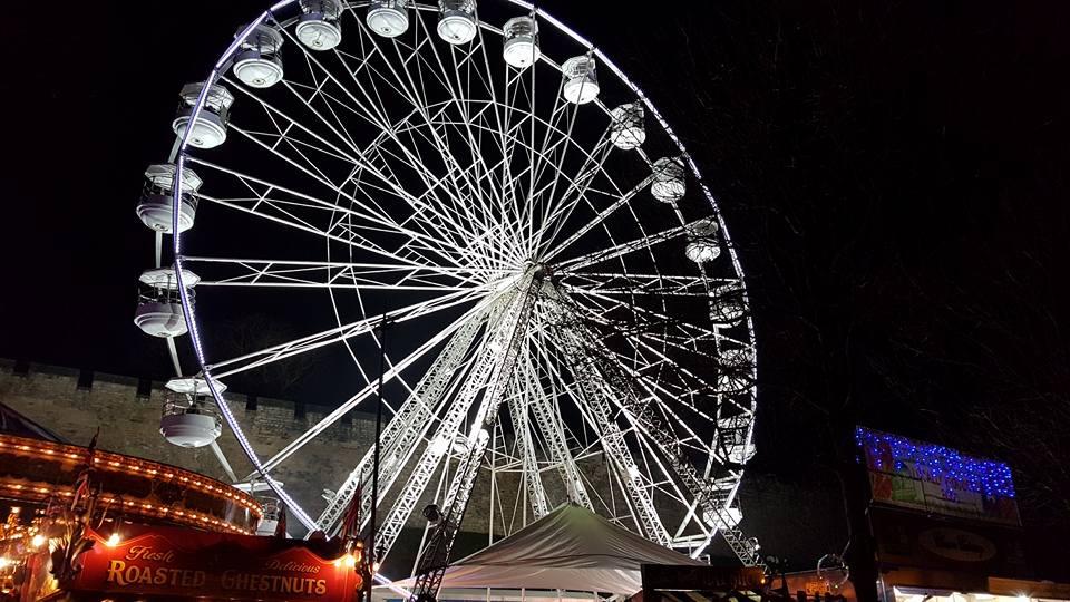 Lincoln Christmas Market Big Wheel