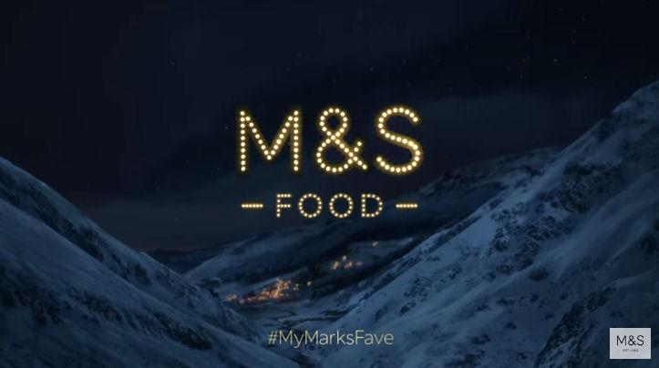 M&S Christmas Adverts - Food advert