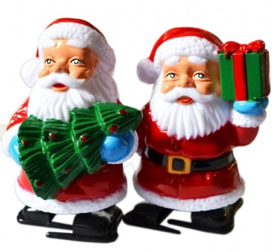Racing Santas Wind Up Toys from Find Me A Gift