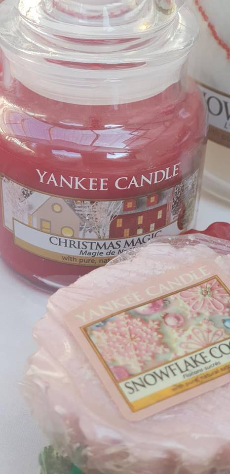 Yankee Christmas candles and wax melts
