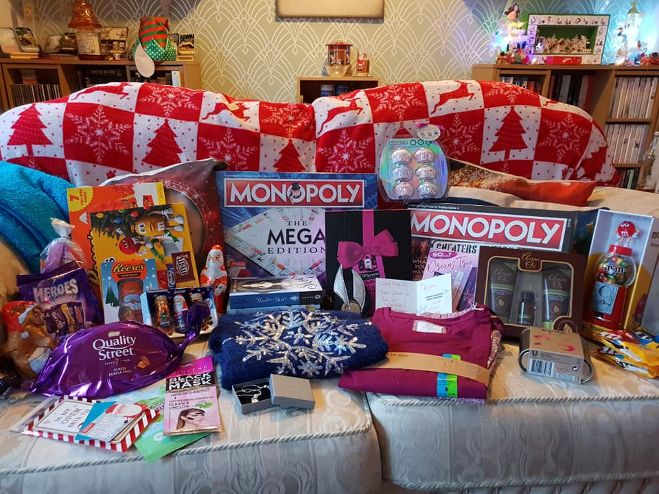 Christmas day photos 2018 - KayCee's gifts