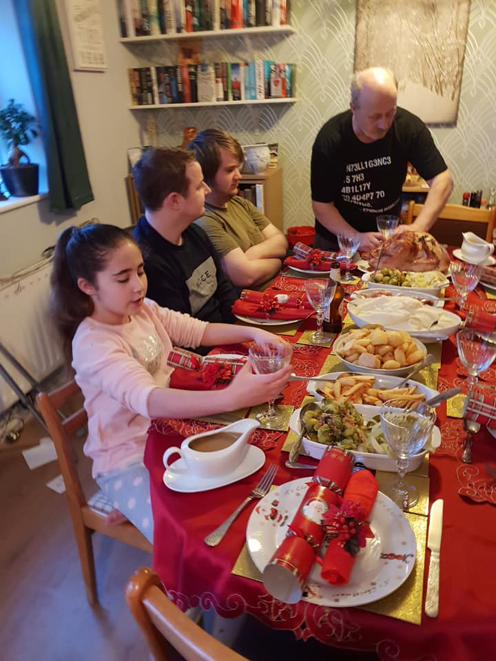 Christmas day photos 2018 - Ella, Jervais and Aiden