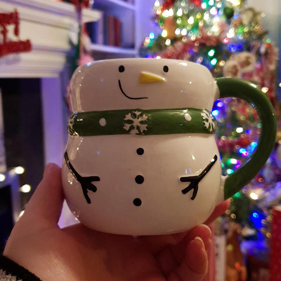 new snowman mug