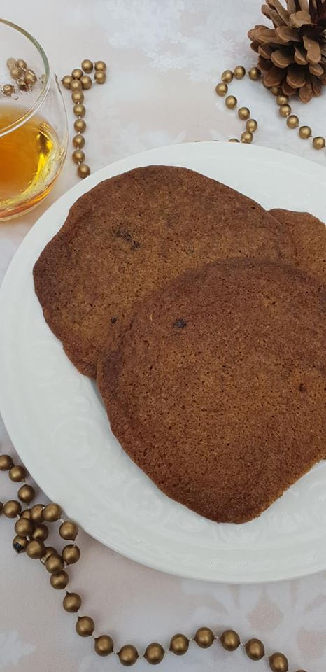 spiced rum cookies