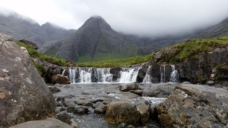 Alternative holiday destinations - The Fairy Pools Isle of Skye