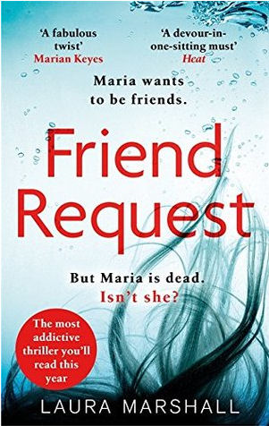 Friend Request by Laura Marshall book cover