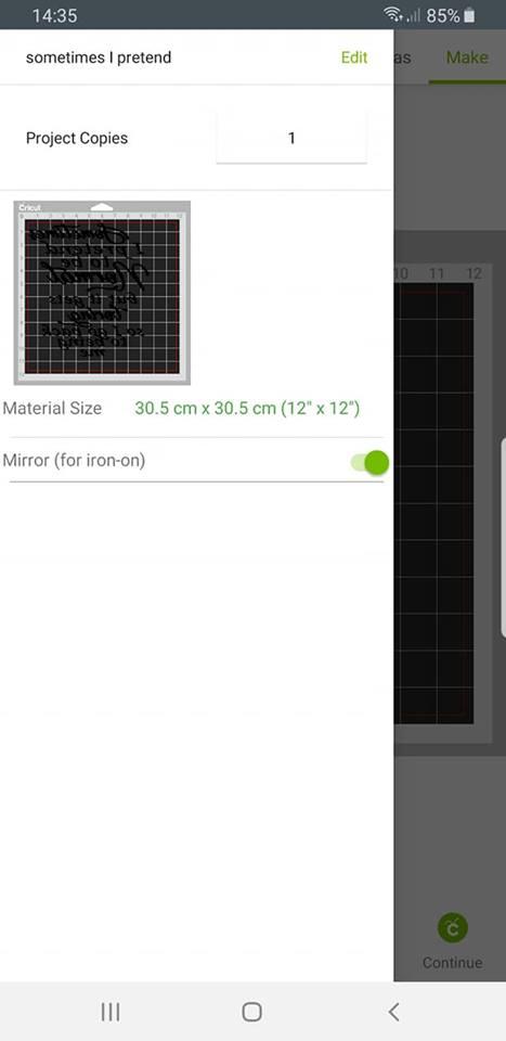 Design Space ap - mirror image