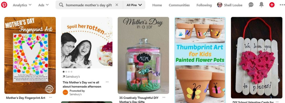 Mother's Day gift ideas on Pinterest