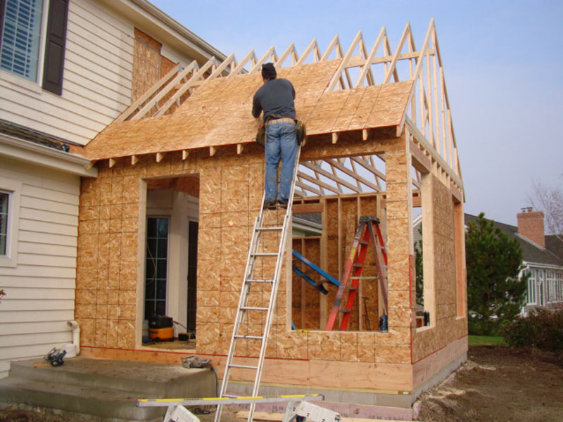 home improvements - adding an extension