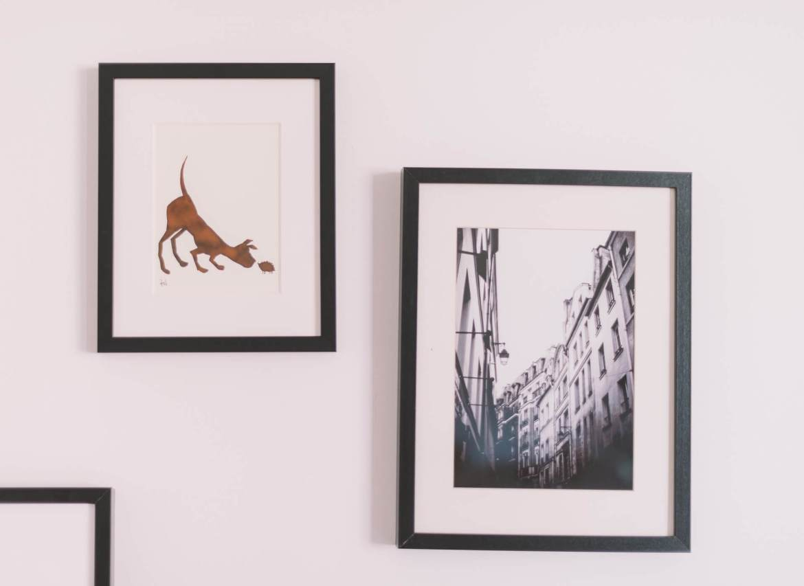 pictures on a wall - decorating your abode