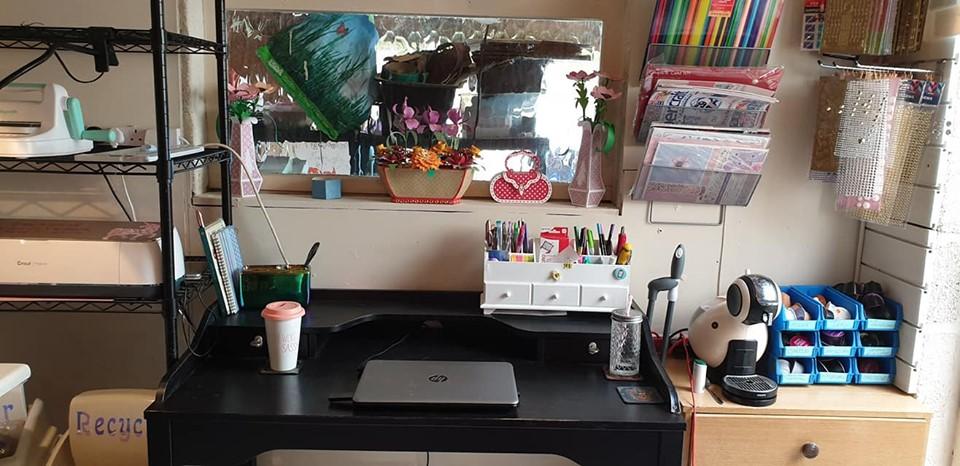 New studio - office desk