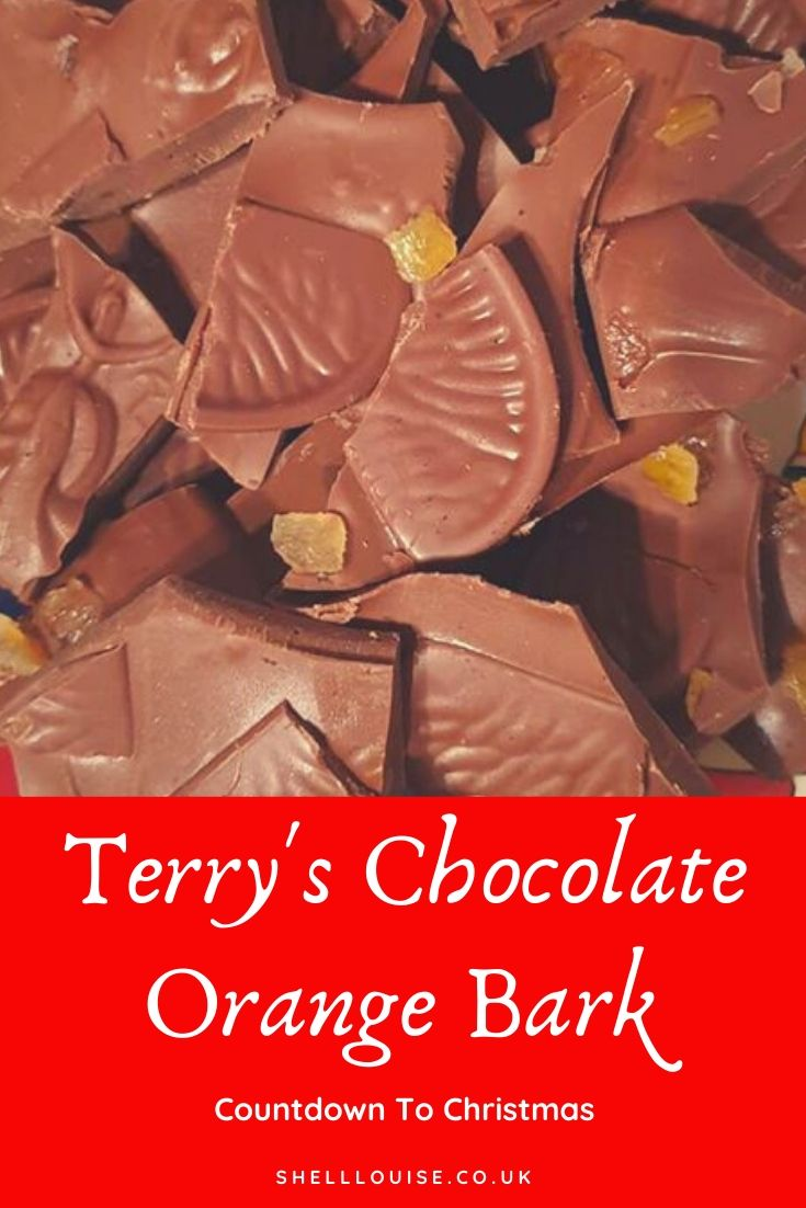 Terry's chocolate orange bark