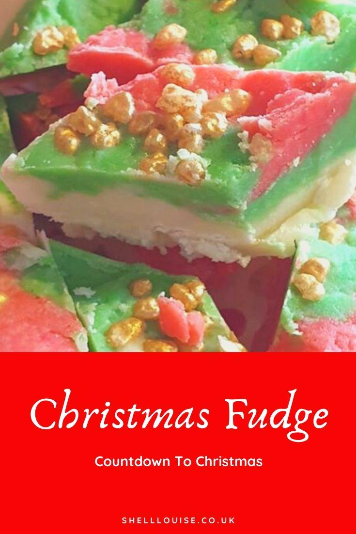 Christmas fudge