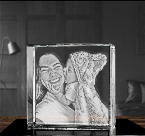 ArtPix 3d laser engraved crystal