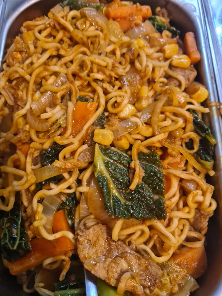 Slimming World Char Sui Pork Noodles fakeaway recipe