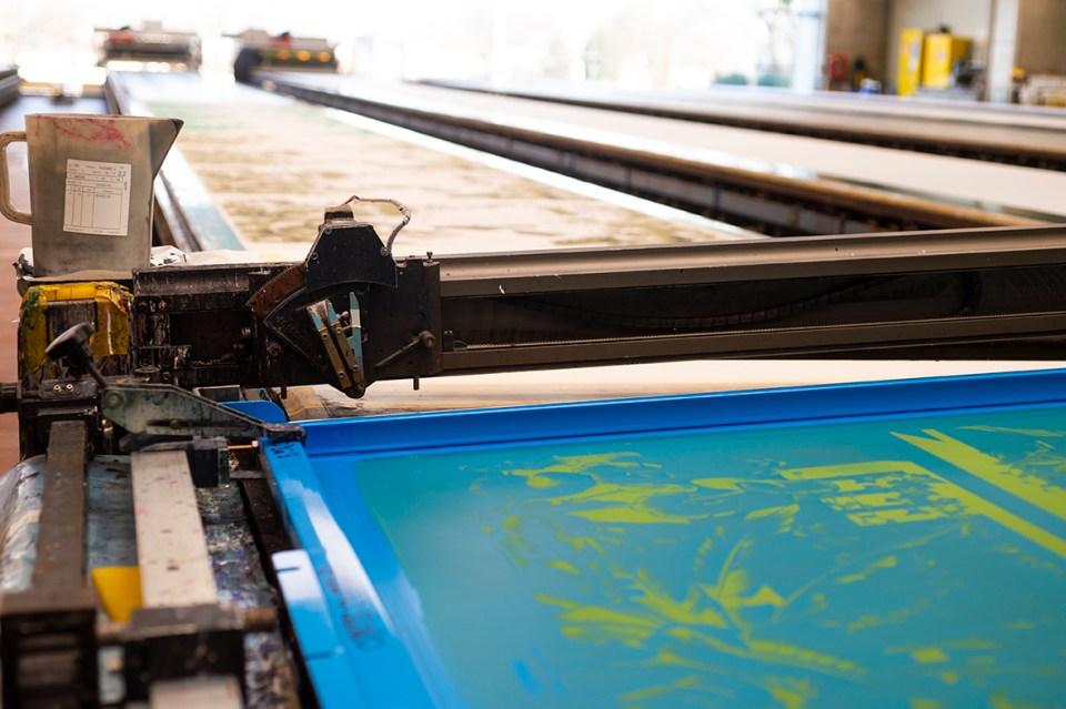 fabric printing machine