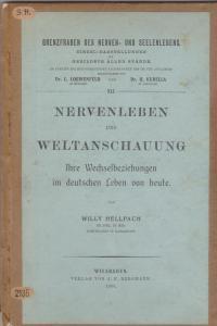 Hellpach, Nervenleben