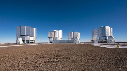 De Very Large Telescope