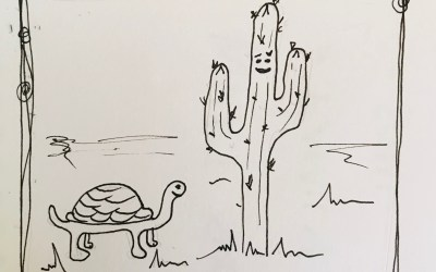 Kids Book – The Cactus and the Big Red Balloon