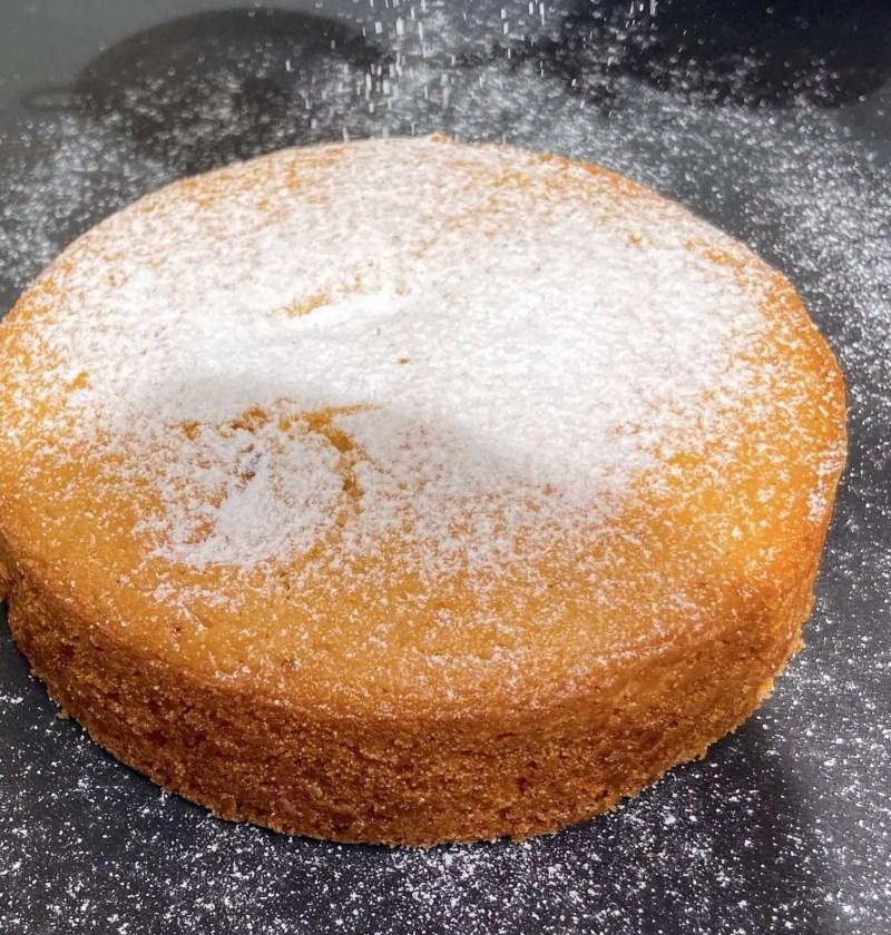 Eggless semolina cake recipe