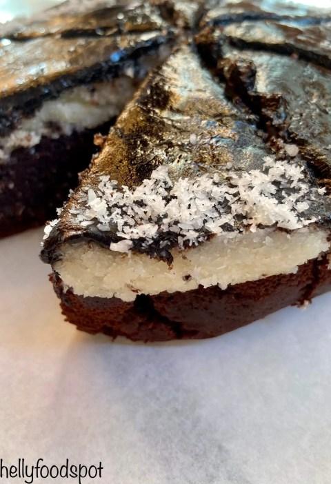 Chocolate coconut bounty cake|coconut chocolate cake 2