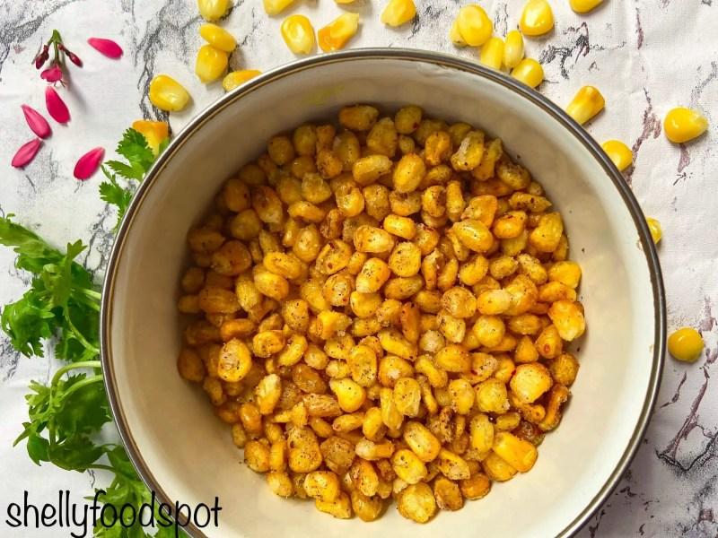 Barbeque nation style crispy corns recipe crispy corn