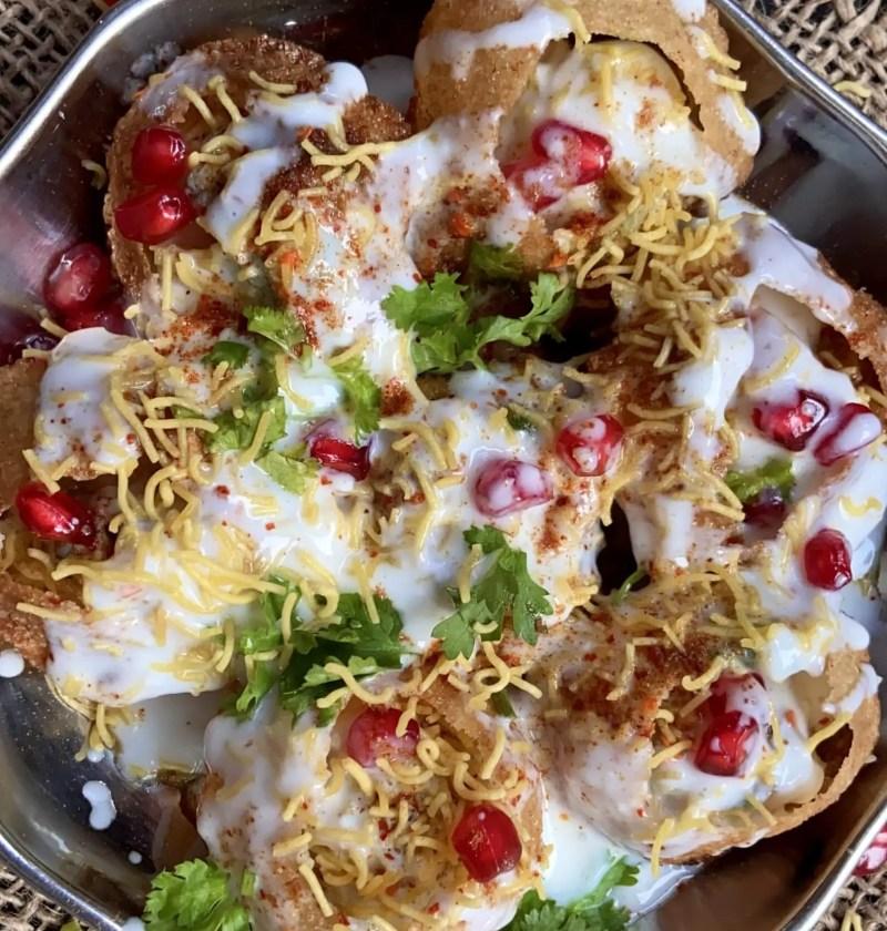 Dahi batata puri|Dahi wale golgappe|Dahi puri recipe 2