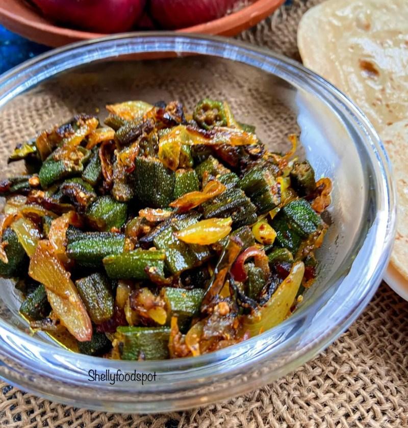 How to make bhindi do pyaza|Bhindi fry with onion 2