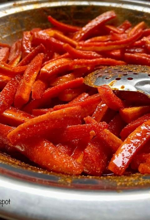 How to make carrot pickle|gajar ka achar recipe 4