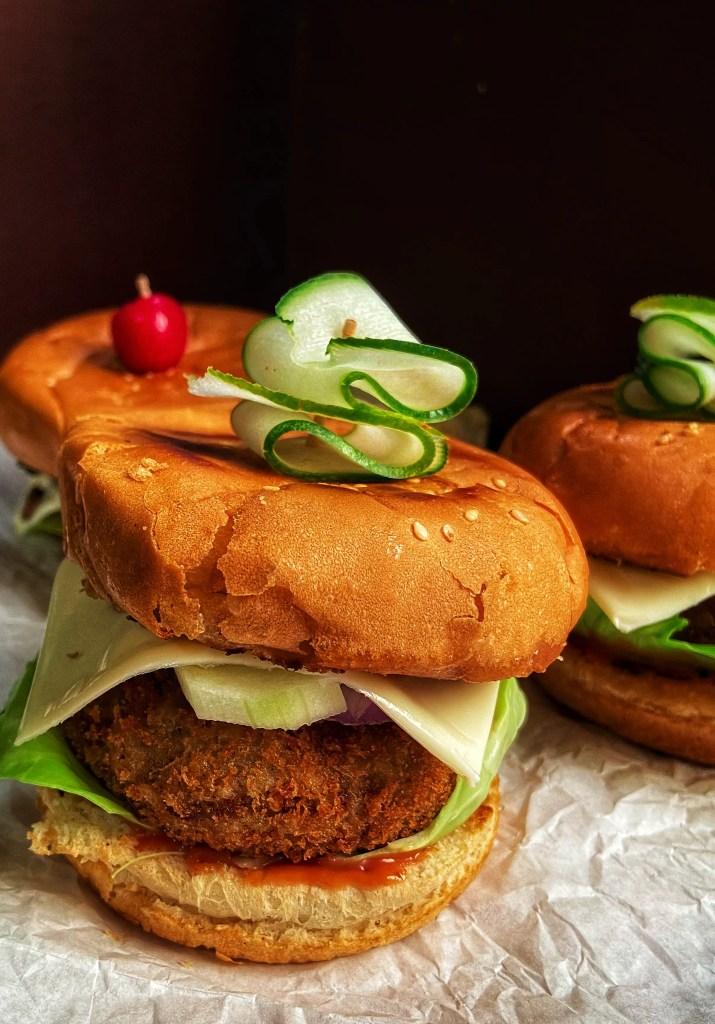 How to make aloo tikki burger aloo tikki burger recipe
