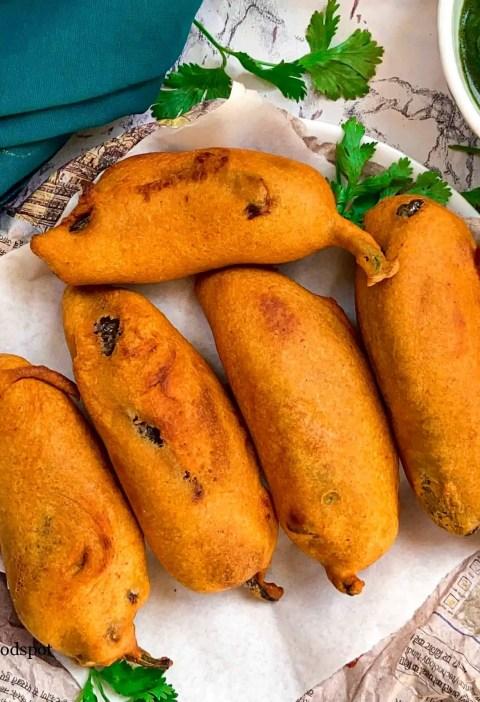 Rajasthani style mirchi vada|stuffed mirchi vada recipe