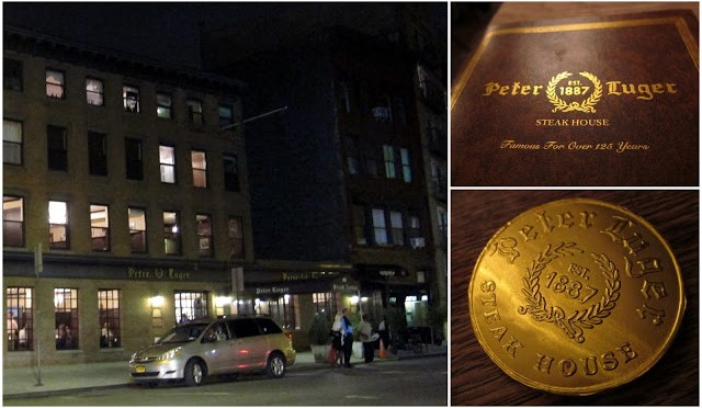 Peter Luger is a oldschool no-frills steakhouse in Brooklyn, NY