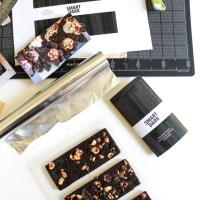 hand-crafted chocolate bars