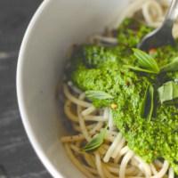 Vegan Pumpkin Seeds & Kale Pesto