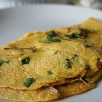 Plant-based omelet