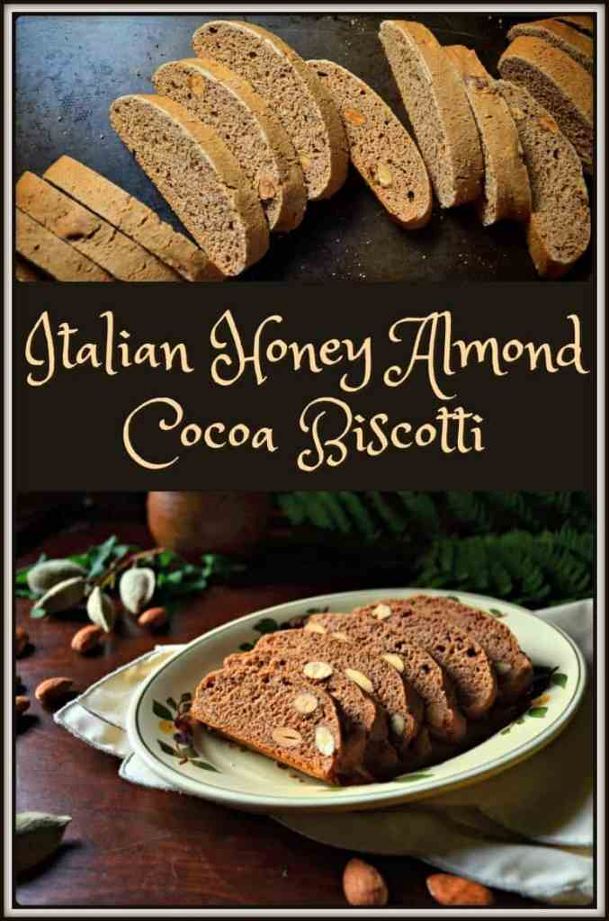 ... Classic Italian Honey Almond Cocoa Biscotti - She loves biscotti