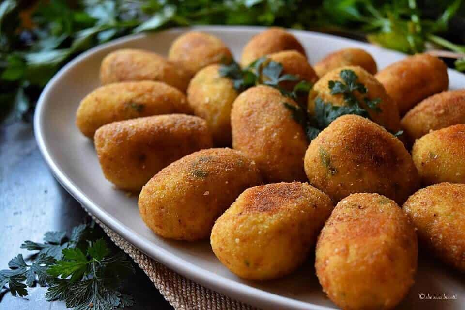 Best Homemade Italian Potato Croquettes