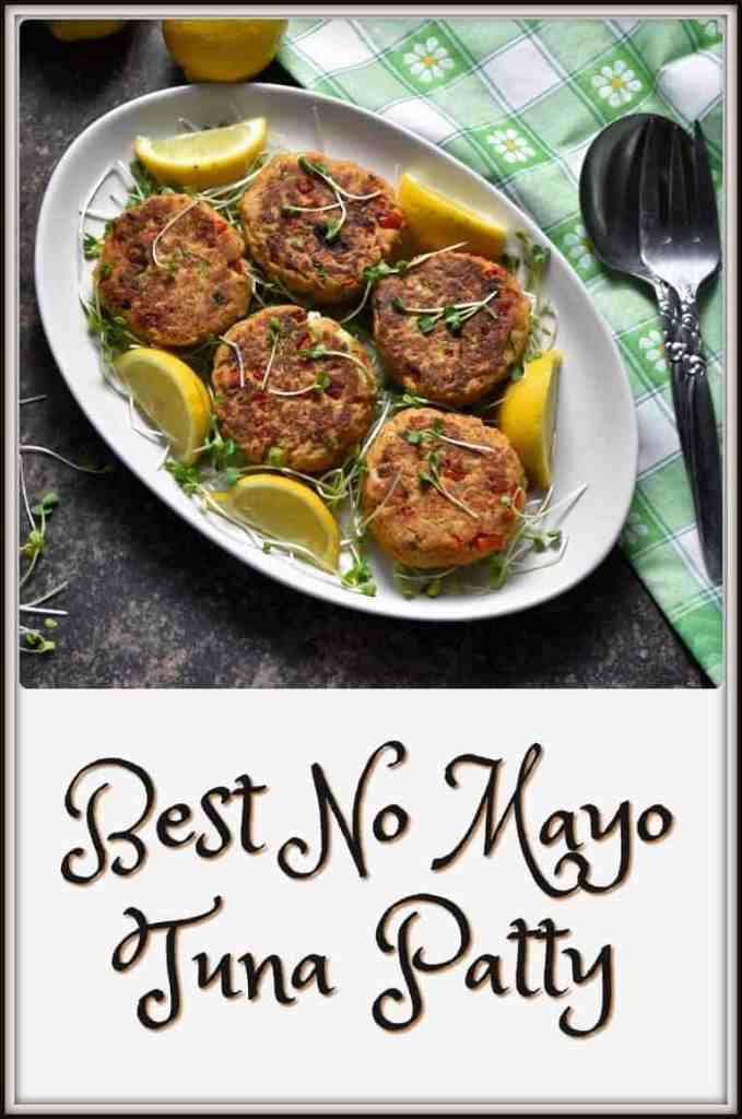 Best No Mayo Tuna Patty Recipe