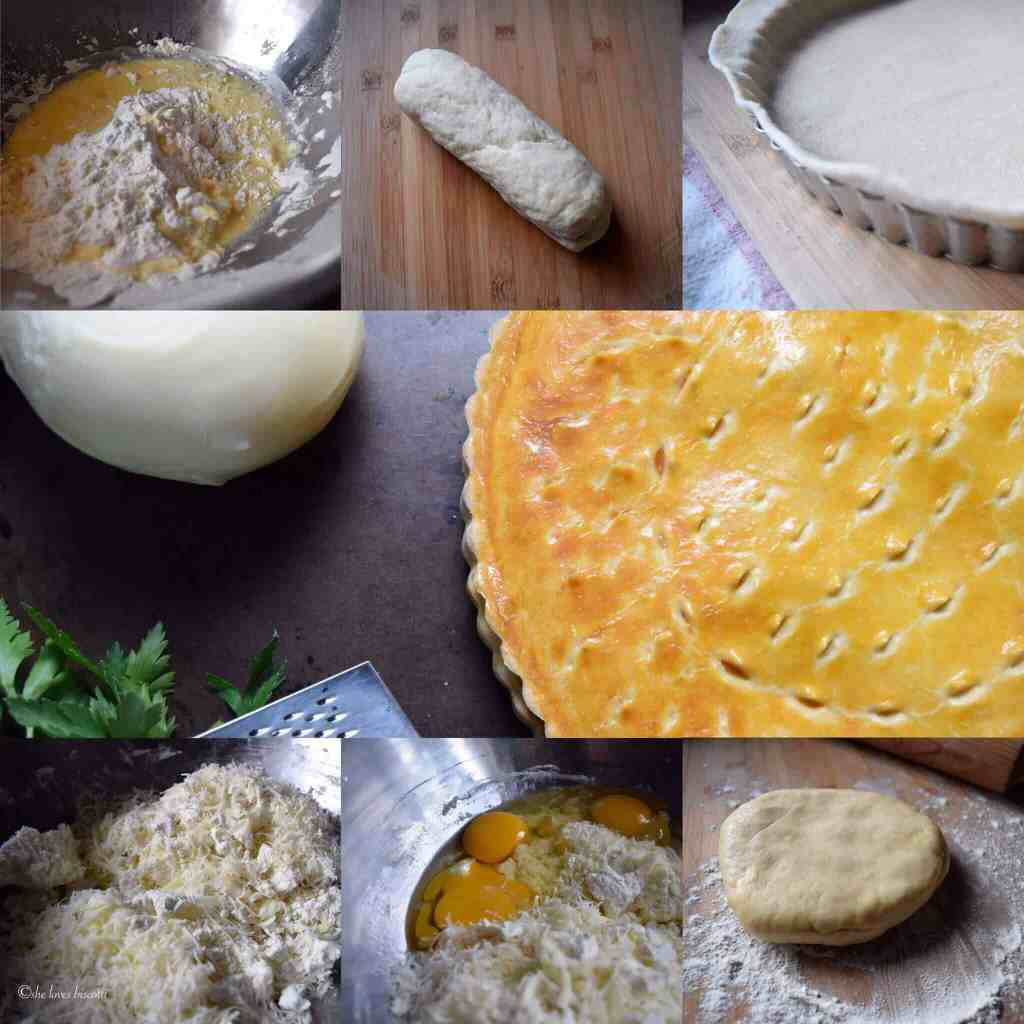 Easy Italian Pizza Rustica aka Easter Pie Recipe