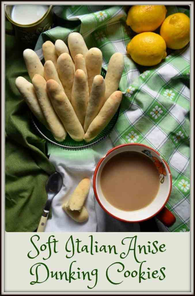 Soft Italian Anise Dunking Cookies di Fabiana