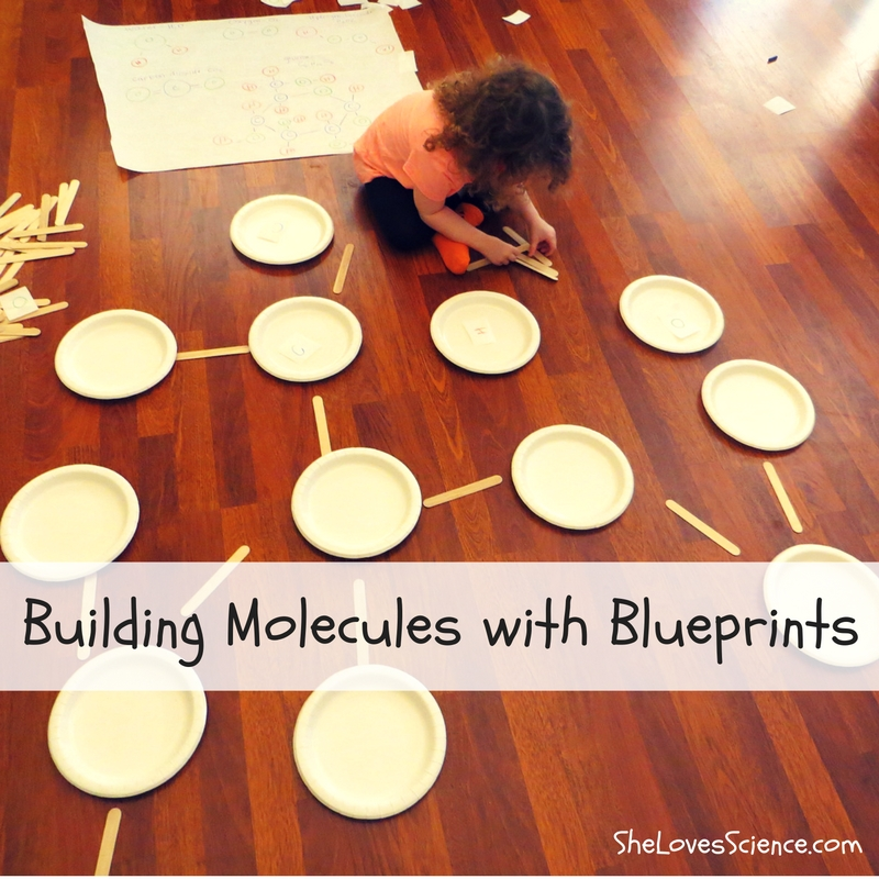 Hands On Science: Building Molecules with Blueprints